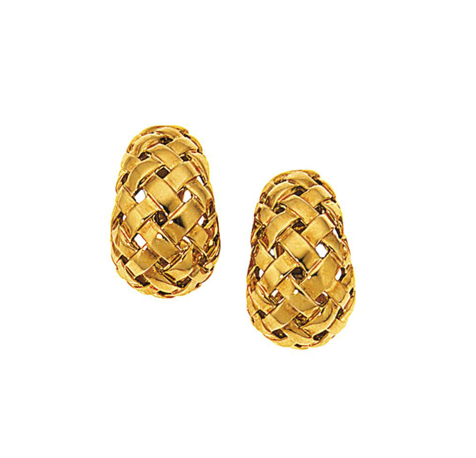 Two pairs of earrings, by Tiff