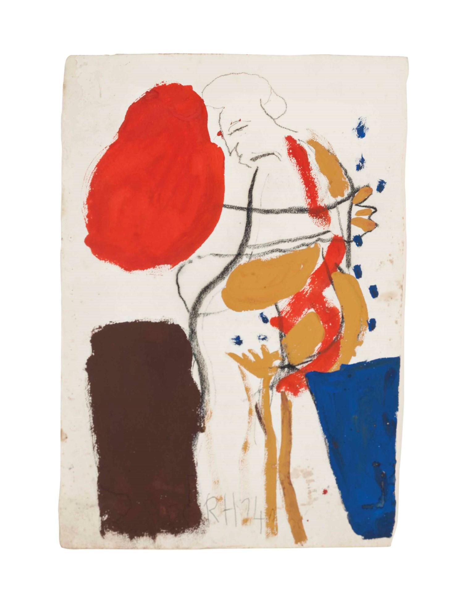 Bonhams : Roger Hilton (British, 1911-1975) Landscape 36.5