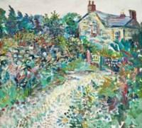 Cornwall cottage garden