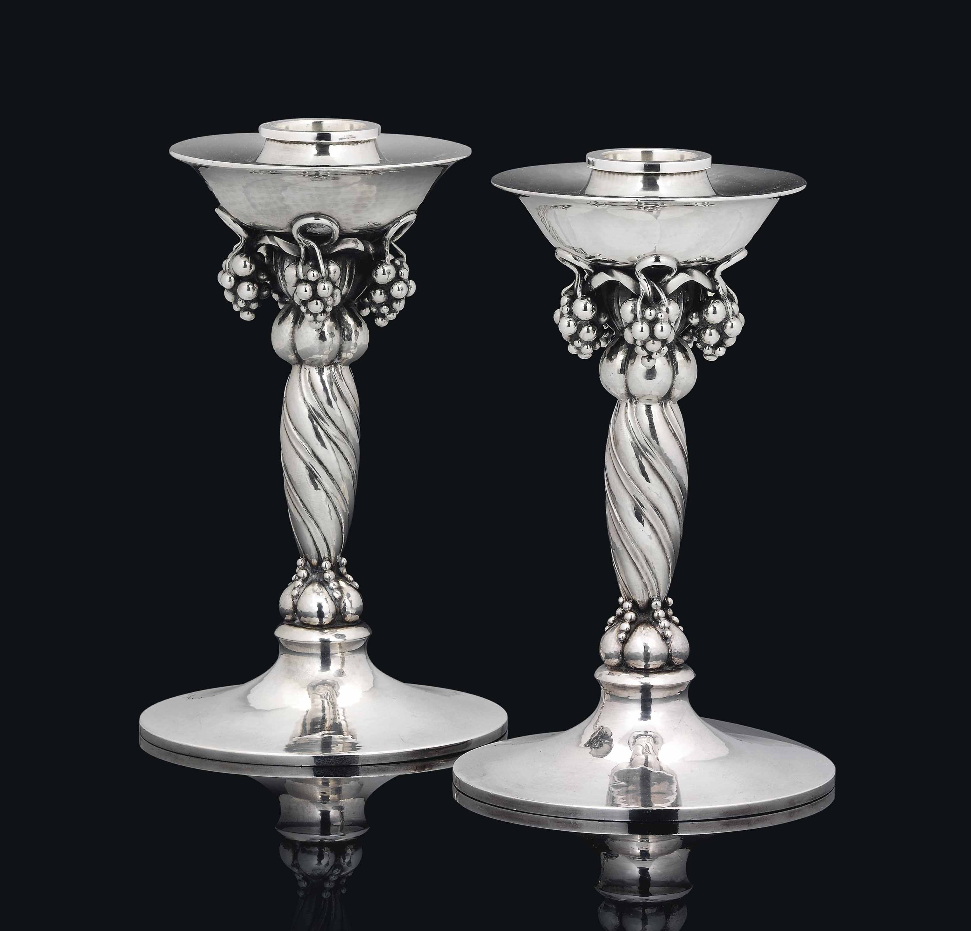 A PAIR OF GEORG JENSEN (EST.19