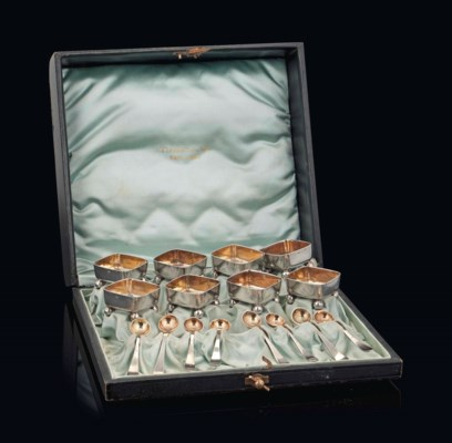 A SET OF EIGHT TIFFANY & CO SI