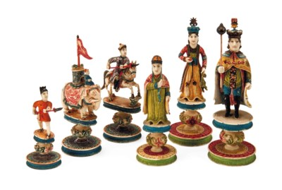 A CHINESE-EXPORT POLYCHROME DE
