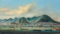 Hong Kong and the harbour