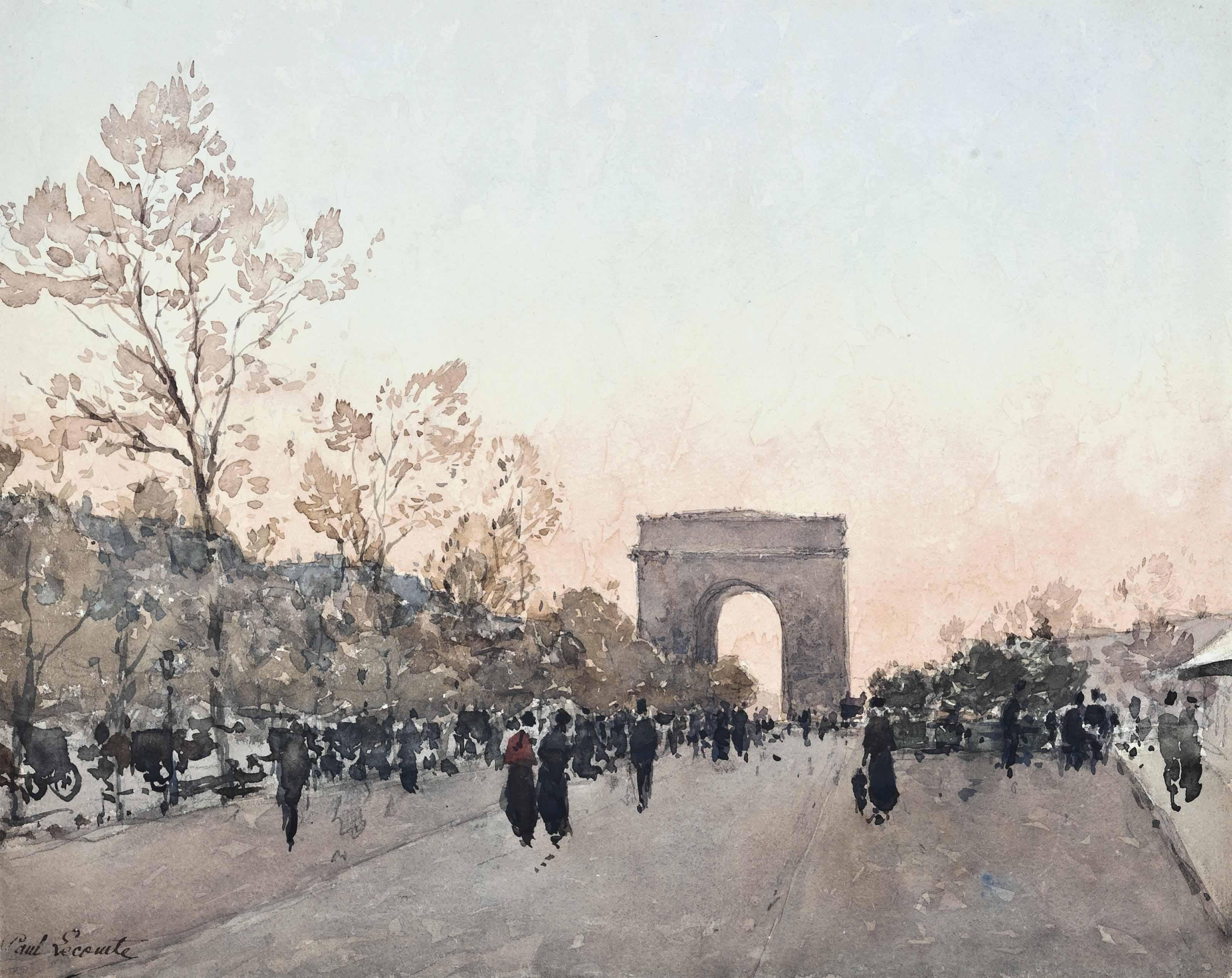 The Champs-Élysées, Paris