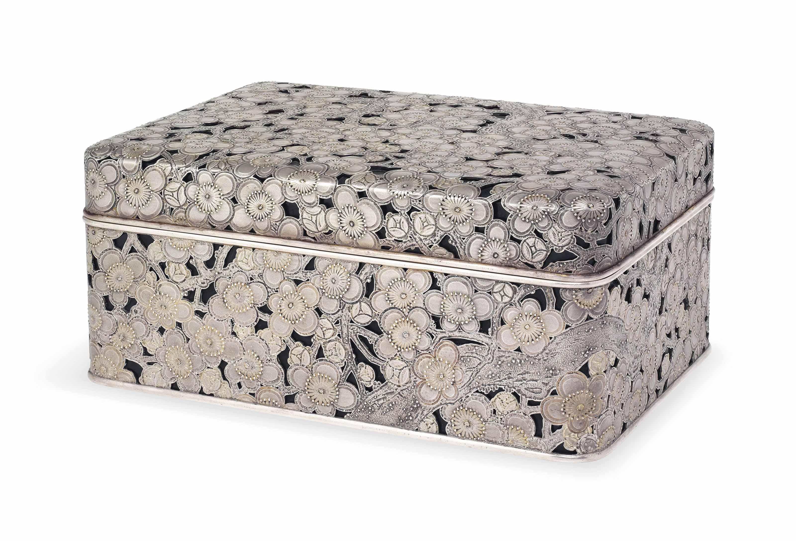 An Unusual Silver Presentation Box