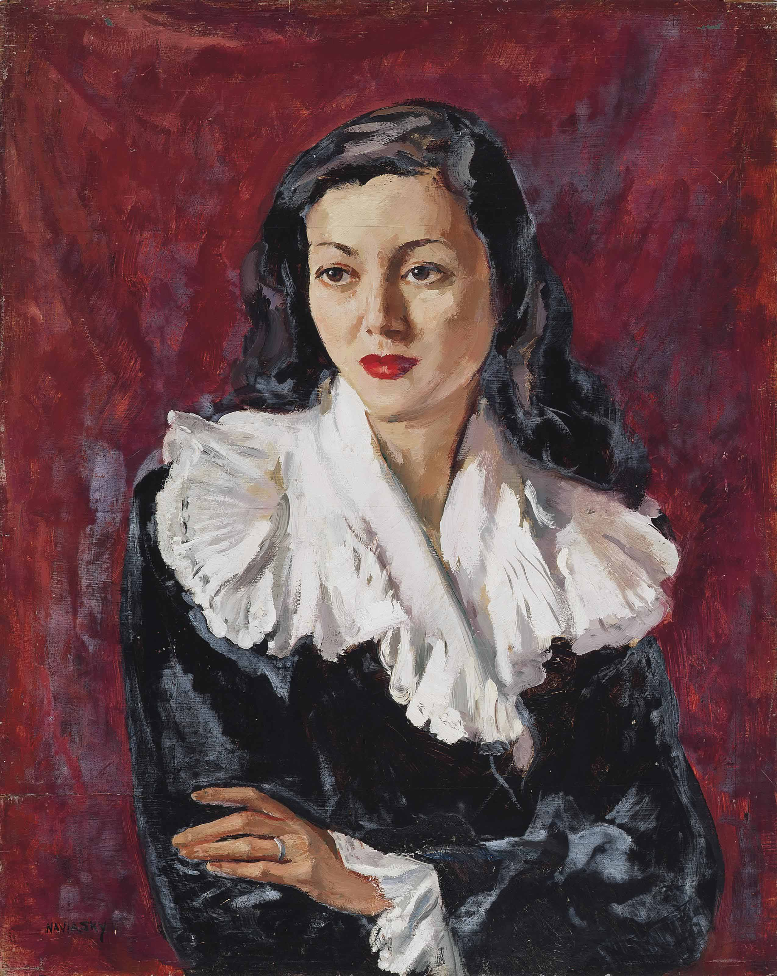Portrait of Mrs Julie Lynn