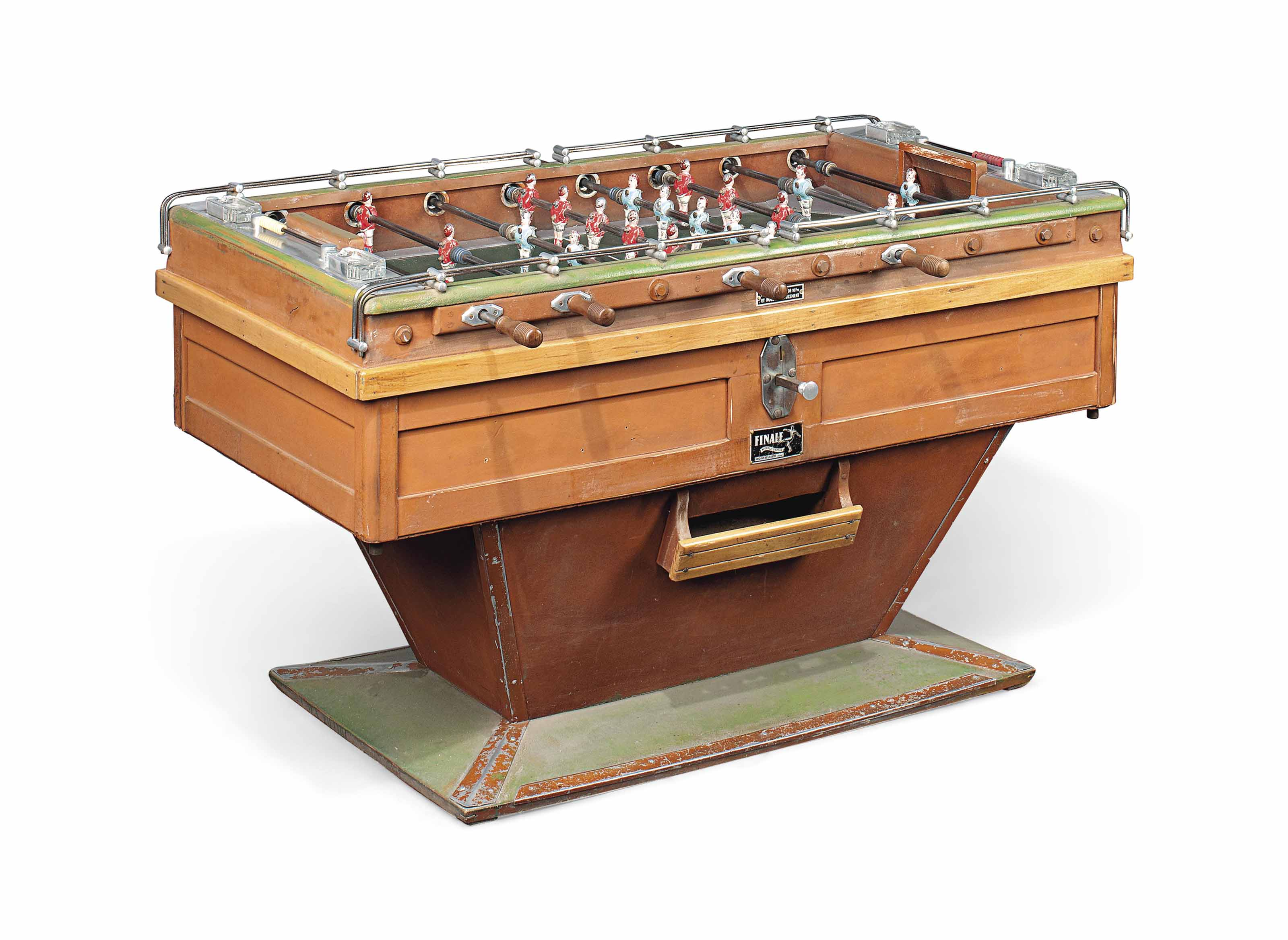 A FRENCH TABLE FOOTBALL GAME