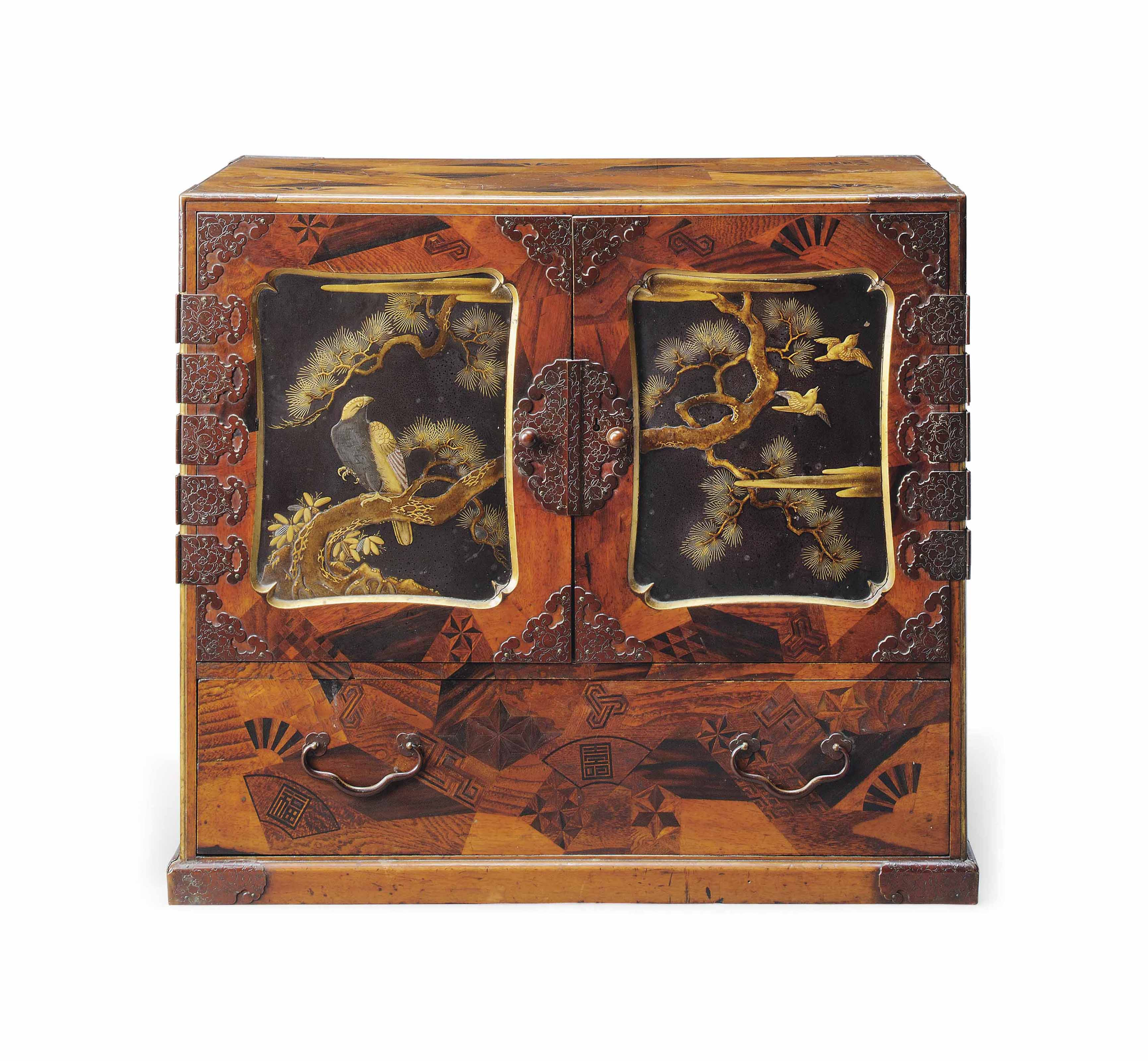 A Japanese Parquetry Cabinet