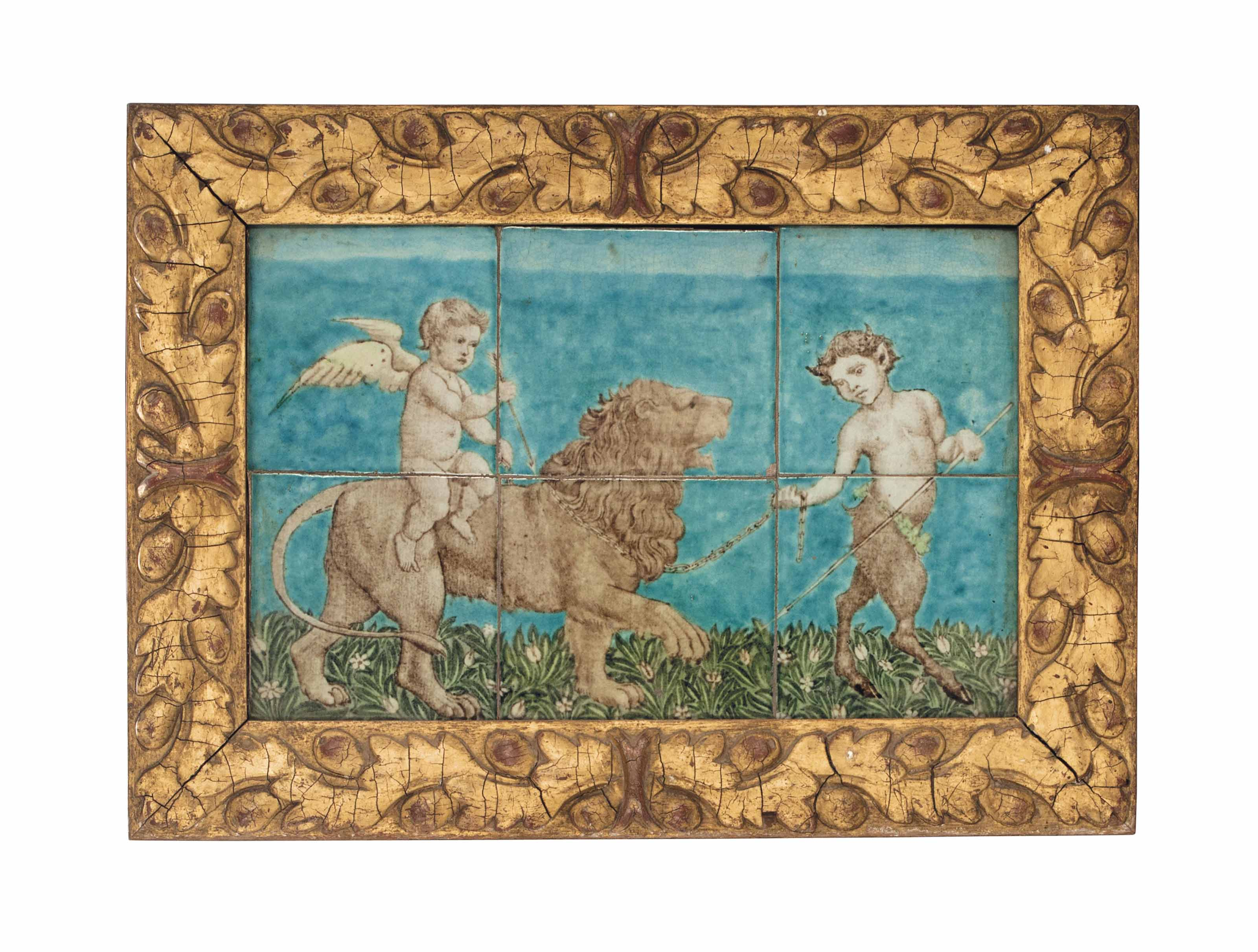 'CUPID, LION AND FAUN', AN EAR