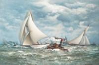 'Twenty miles to windward':  The America's Cup, 1887, Volunteer versus Thistle