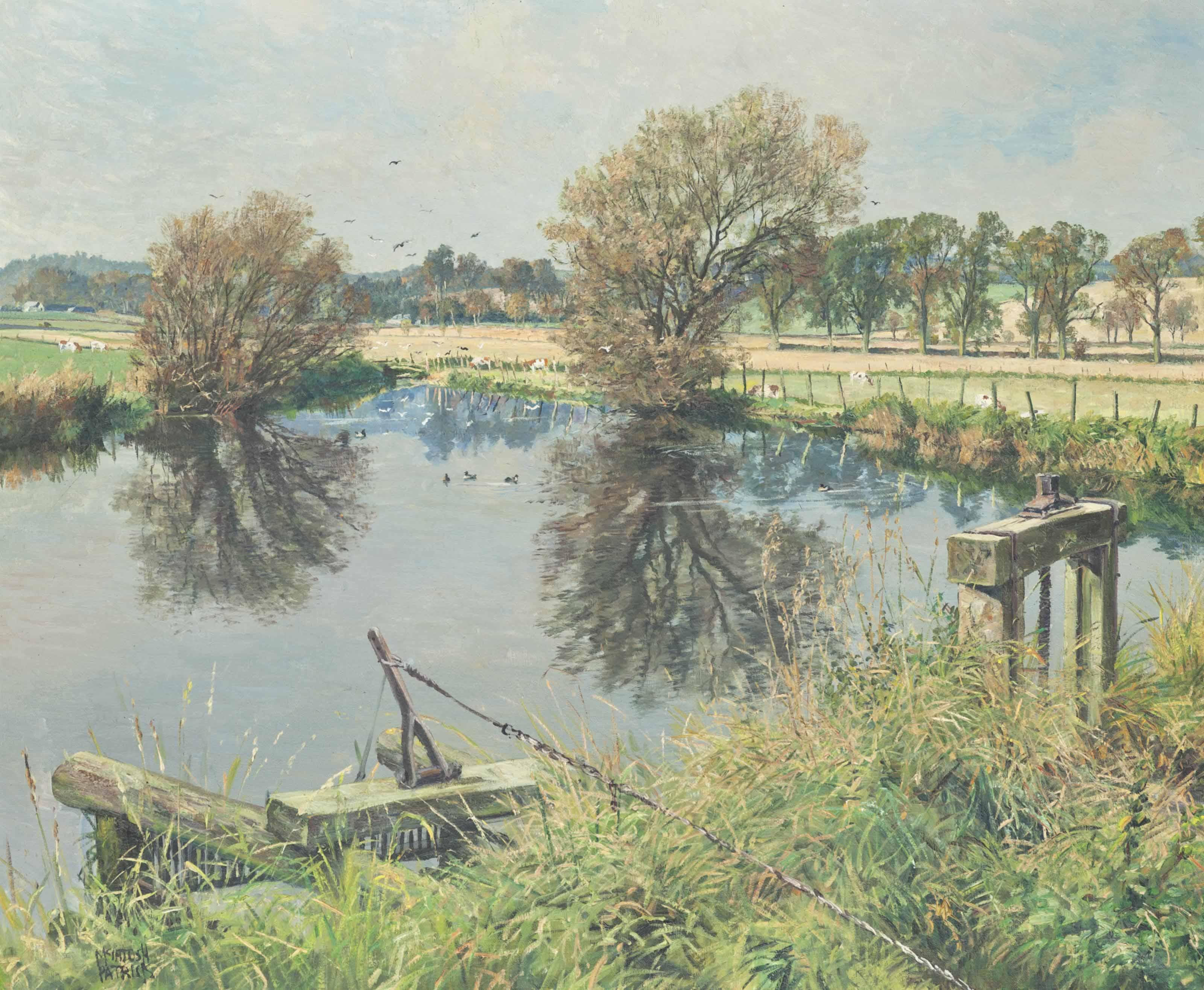 The Mill Stream, Benvie, Angus