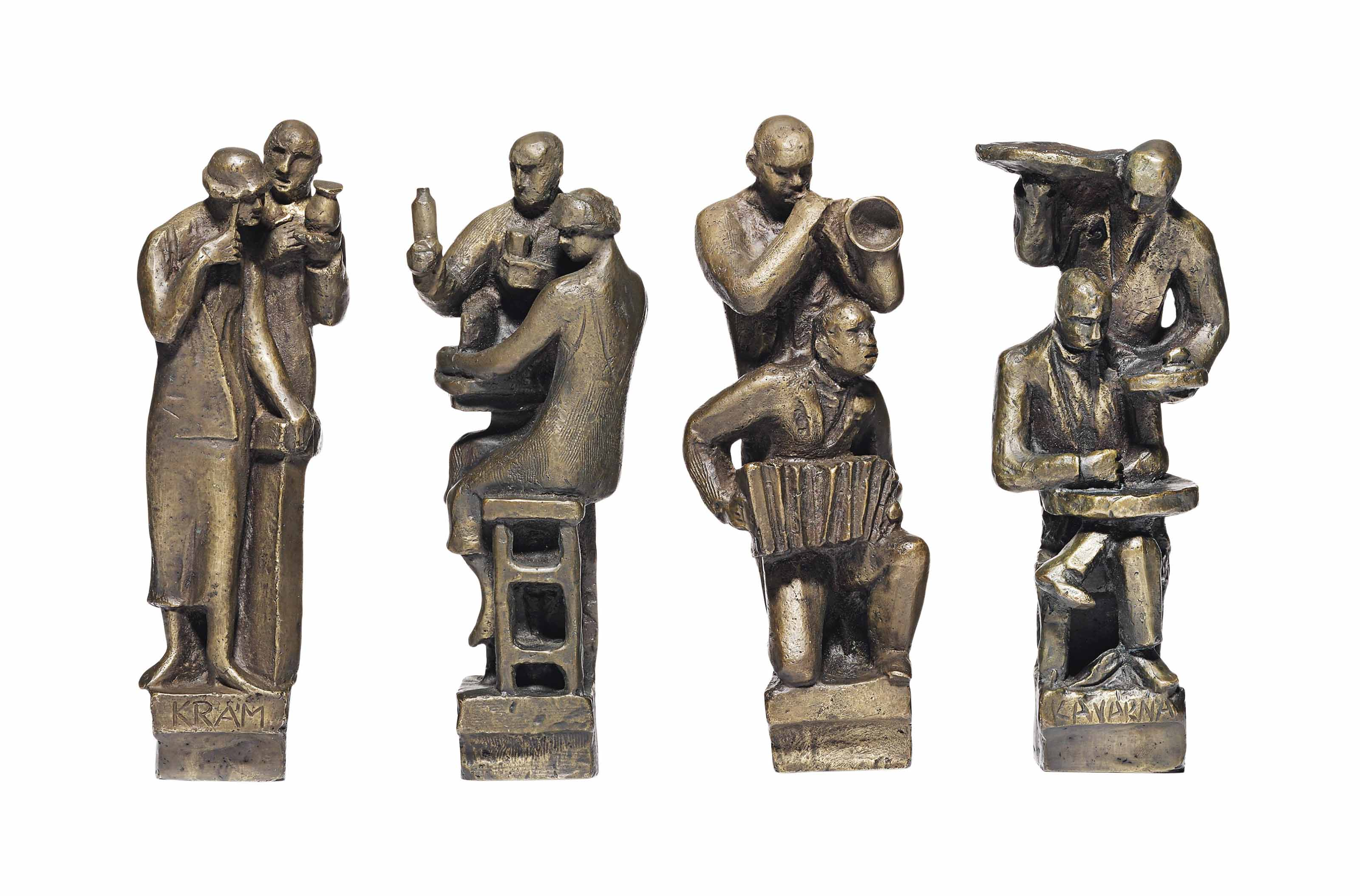 Moderní Zivot - Kavárna I, Kavárna II, Jazz II, Krám