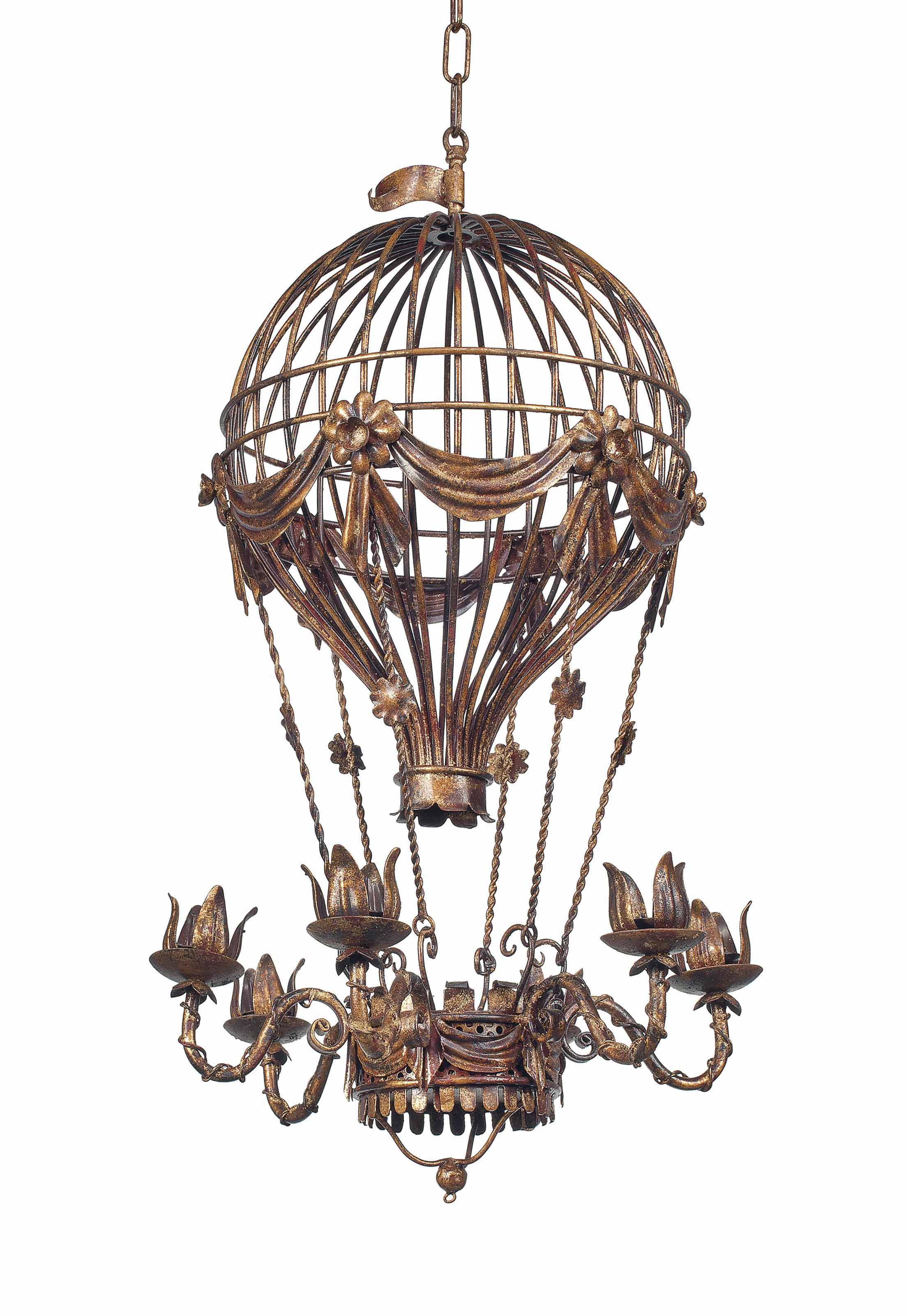 light design consignment chandelier p hot with air metal llc balloon