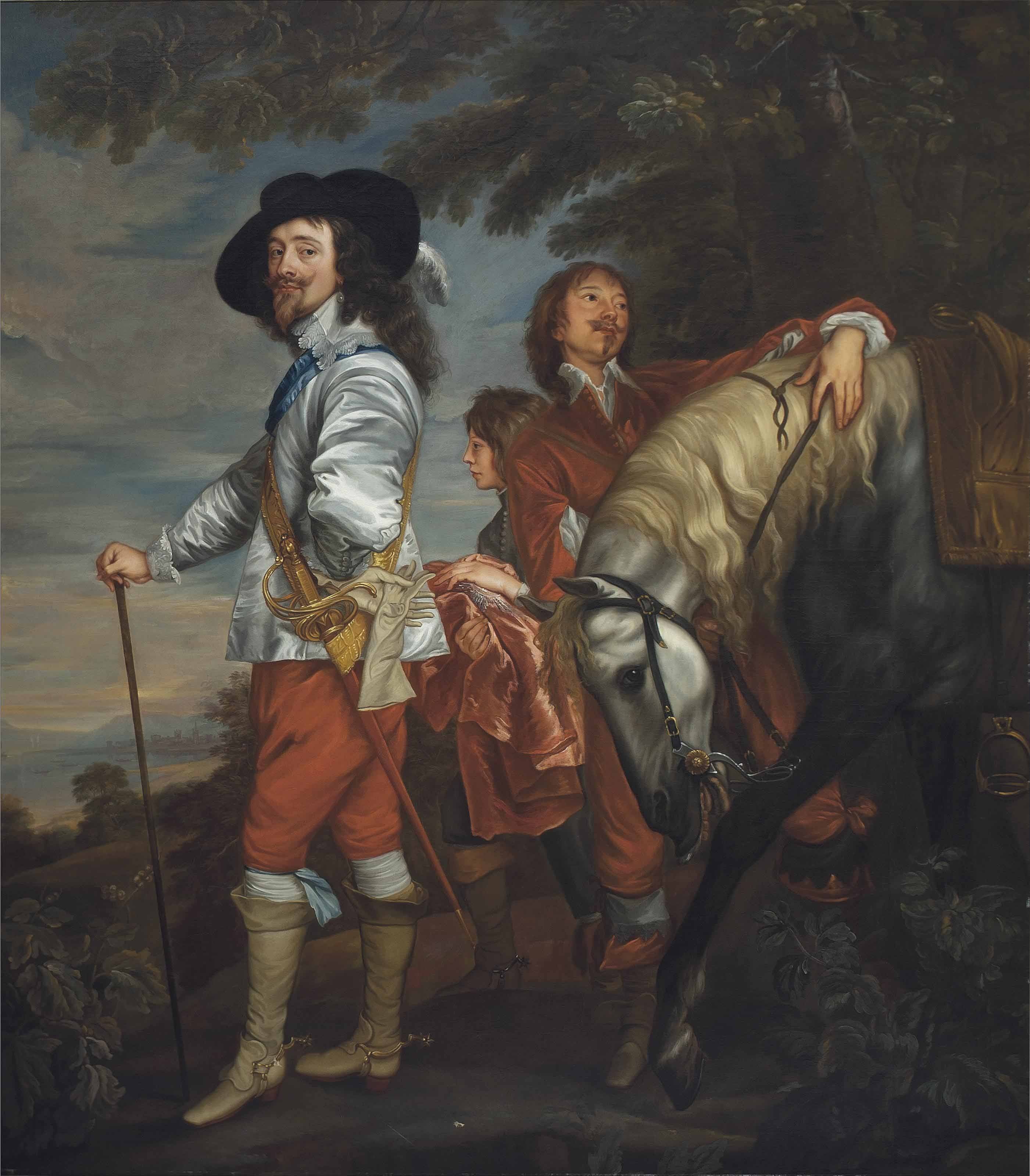 Attributed to Charles Jervas (Dublin c. 1675-1739 London) after Sir Anthony van Dyck