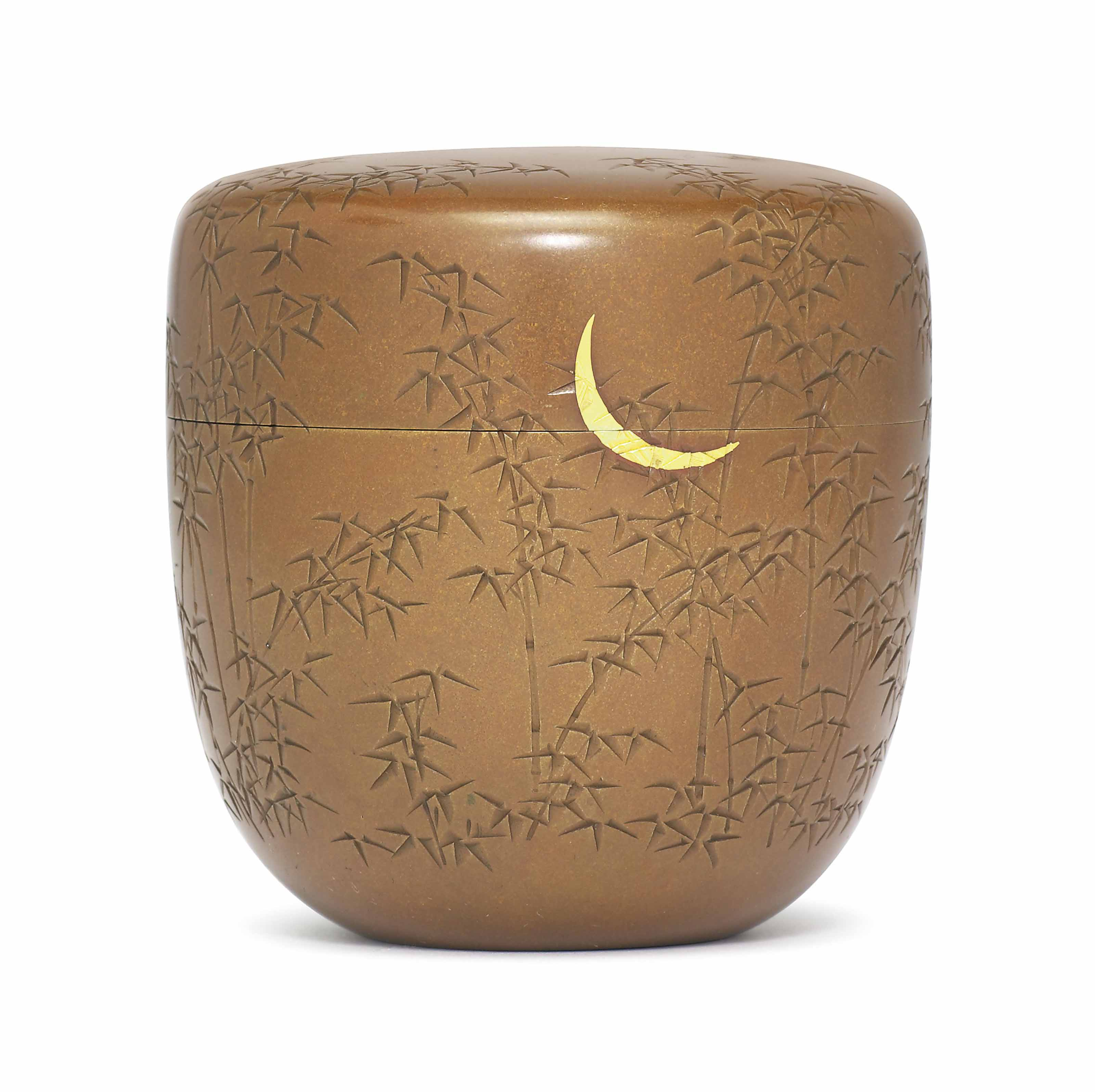 A Copper Natsume [Tea Caddy]