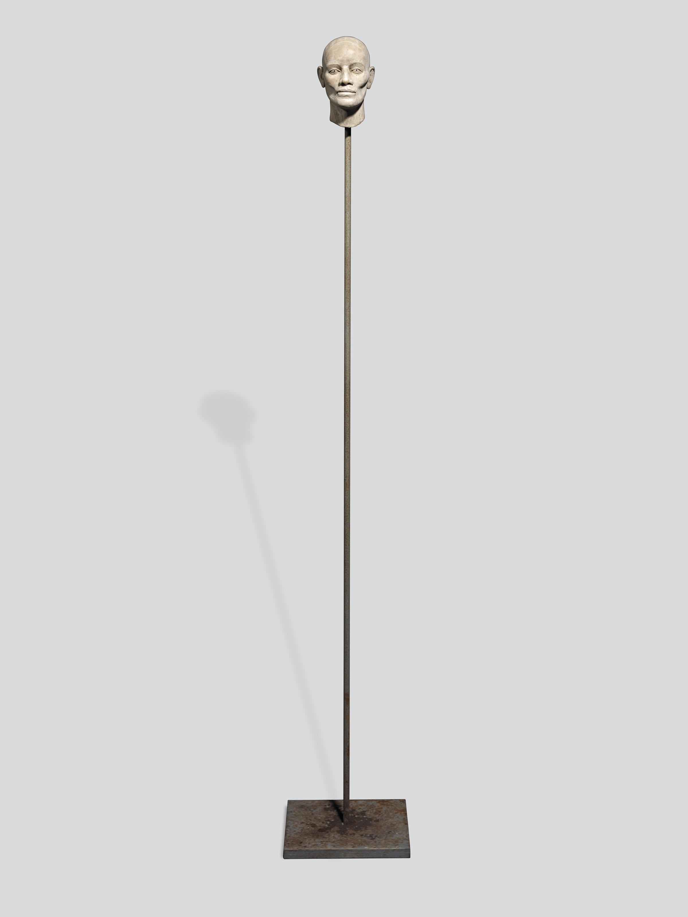 Head on a stick