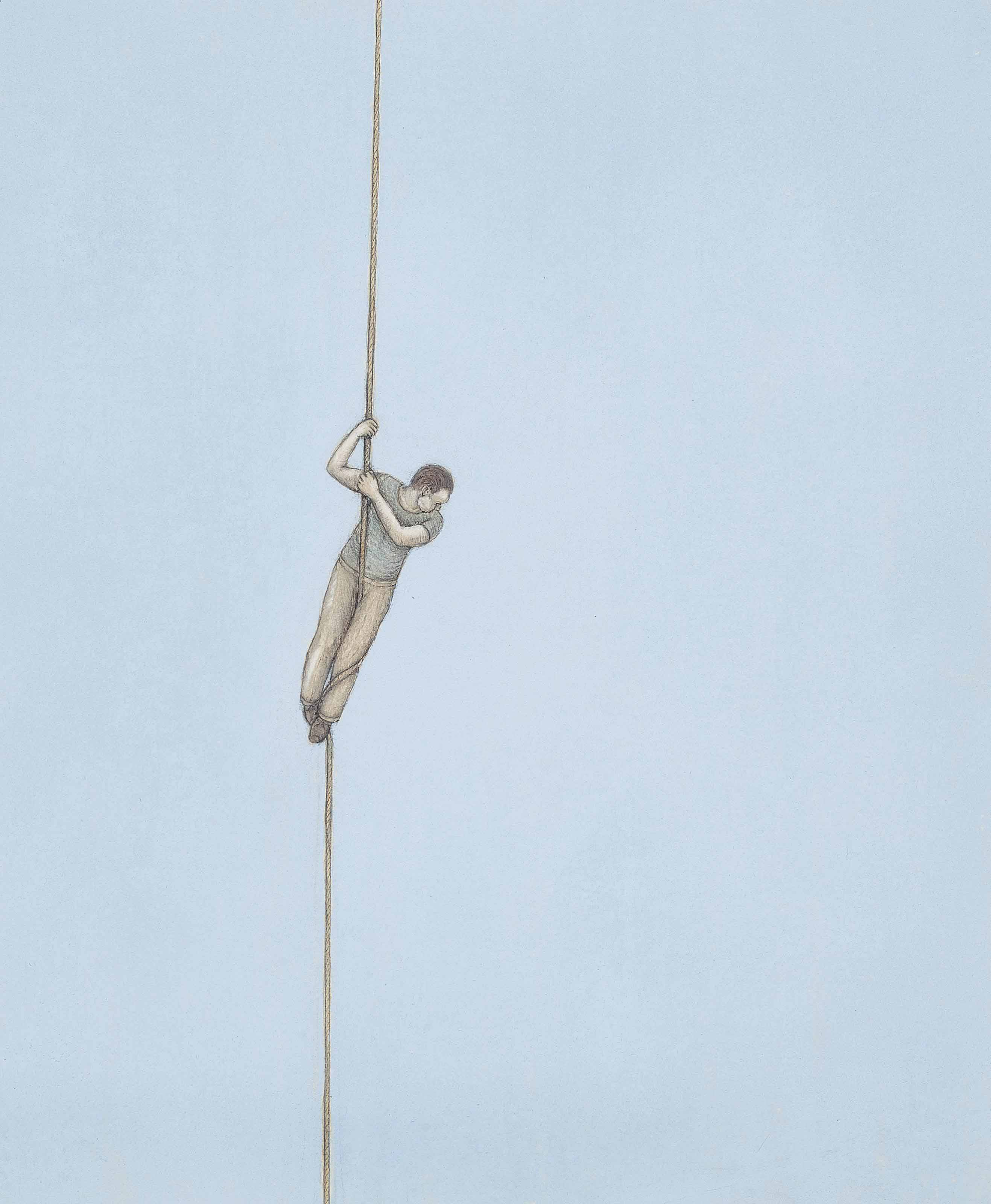 Man on a Rope