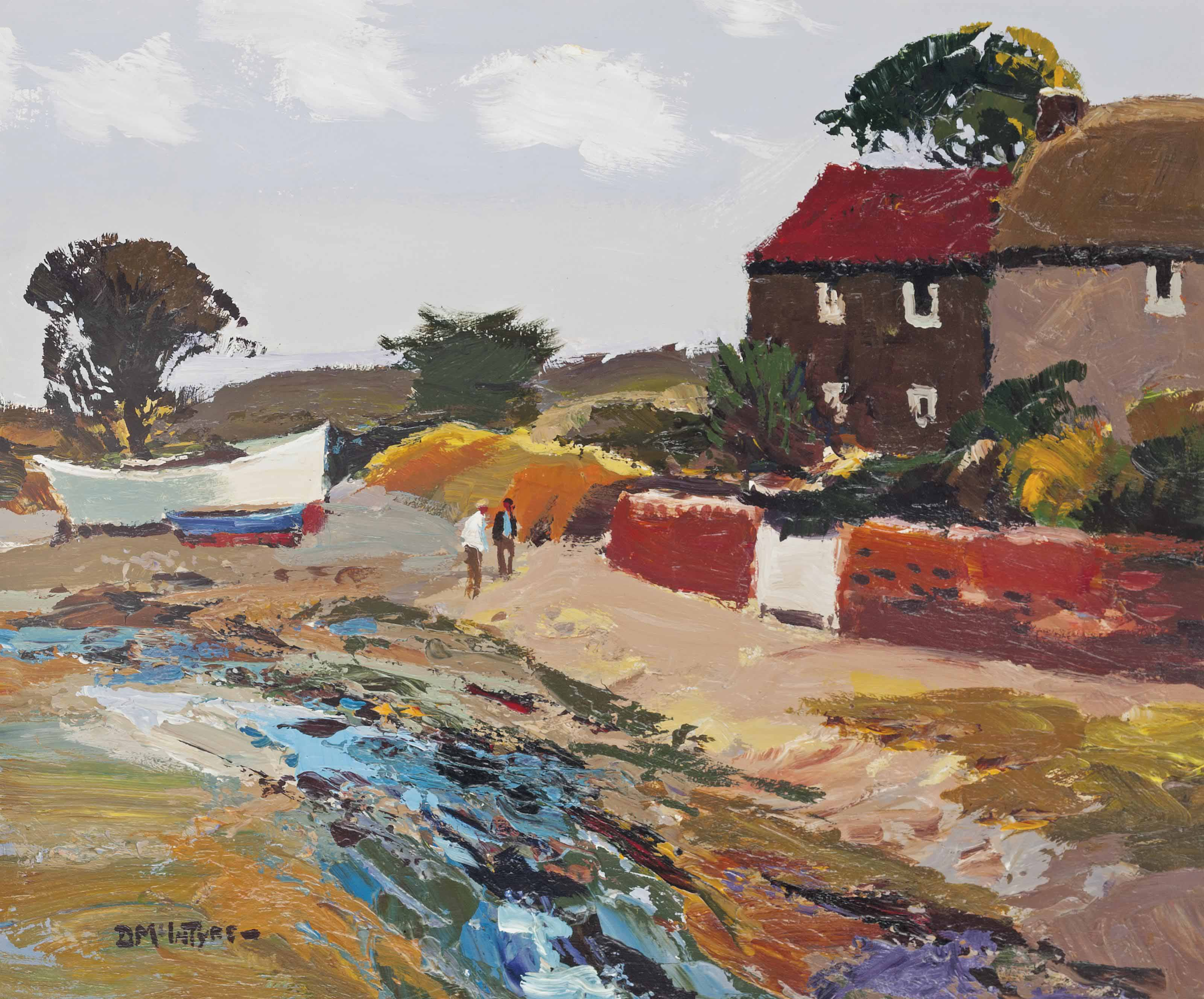 Houses on the Shore, No. 2