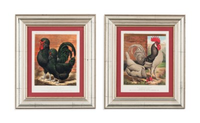 SIXTEEN CHROMOLITHOGRAPHS FROM