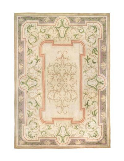 A massive European carpet of S