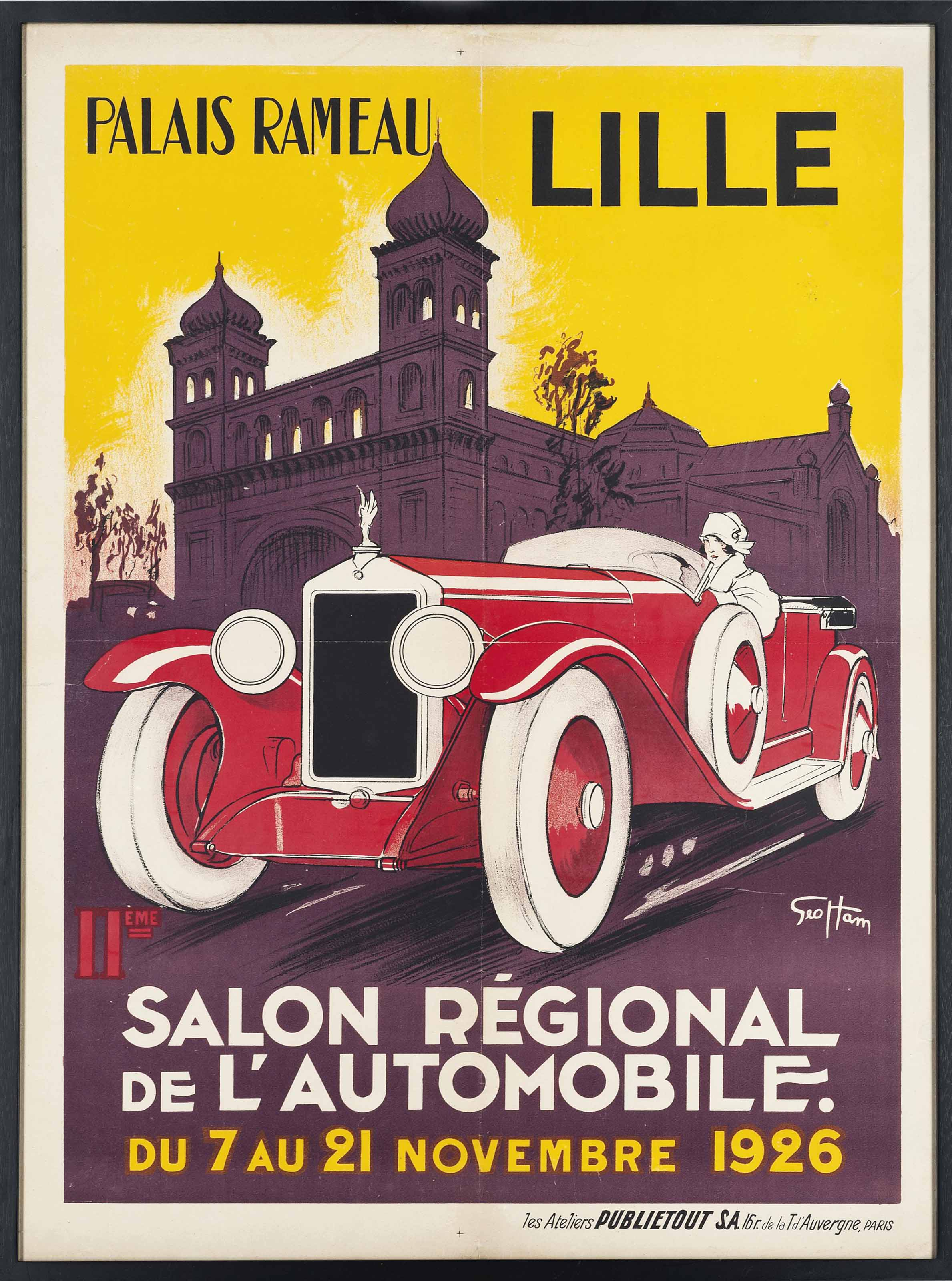 11ème Salon Régional De L'Automobile, Lille 1926