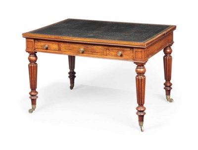 A WILLIAM IV MAHOGANY UNIVERSA