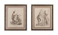 SIX LITHOGRAPHS OF ETHNOGRAPHIC INTEREST