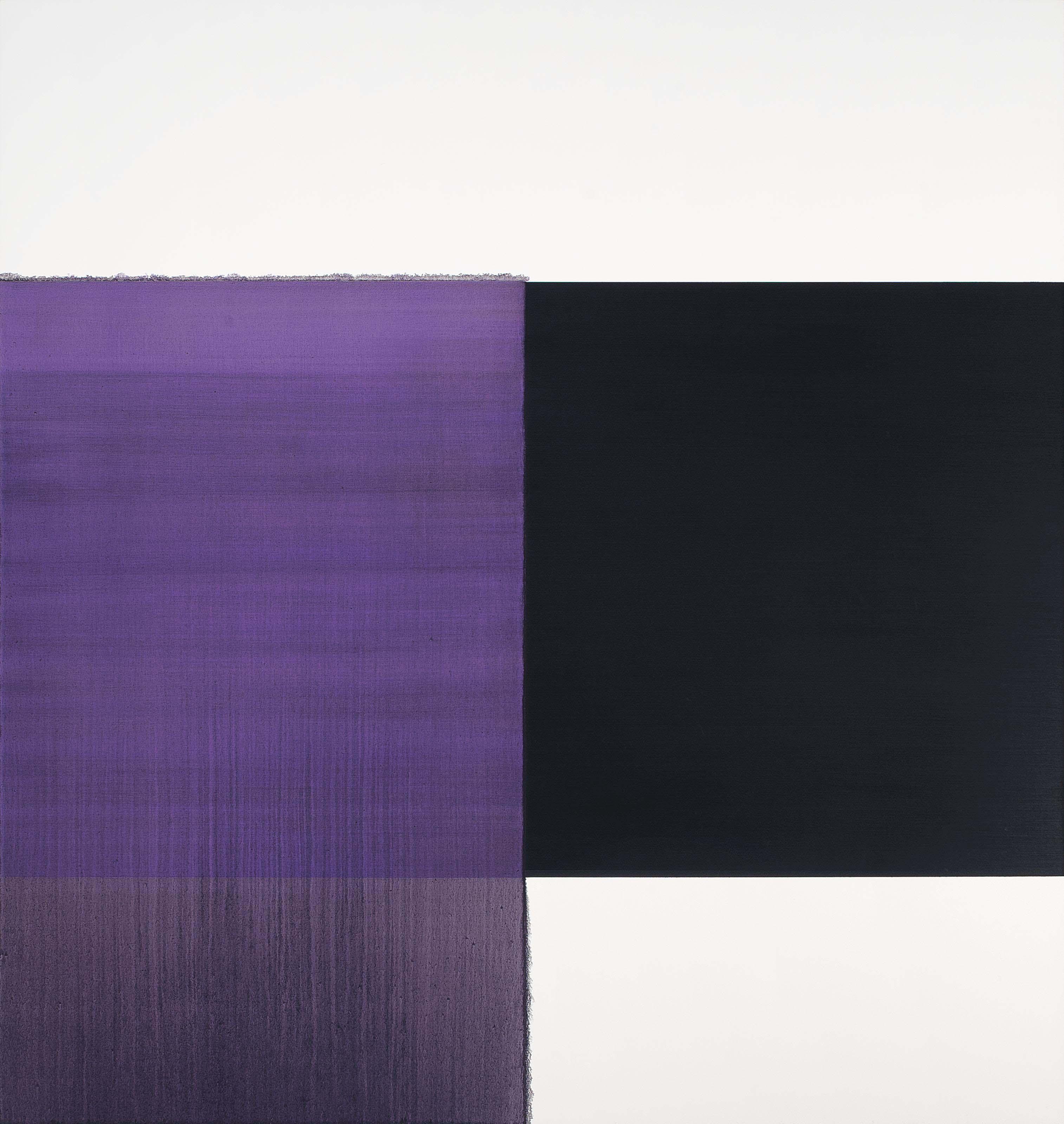 Exposed Painting Dioxazine Violet Scheveningen Black