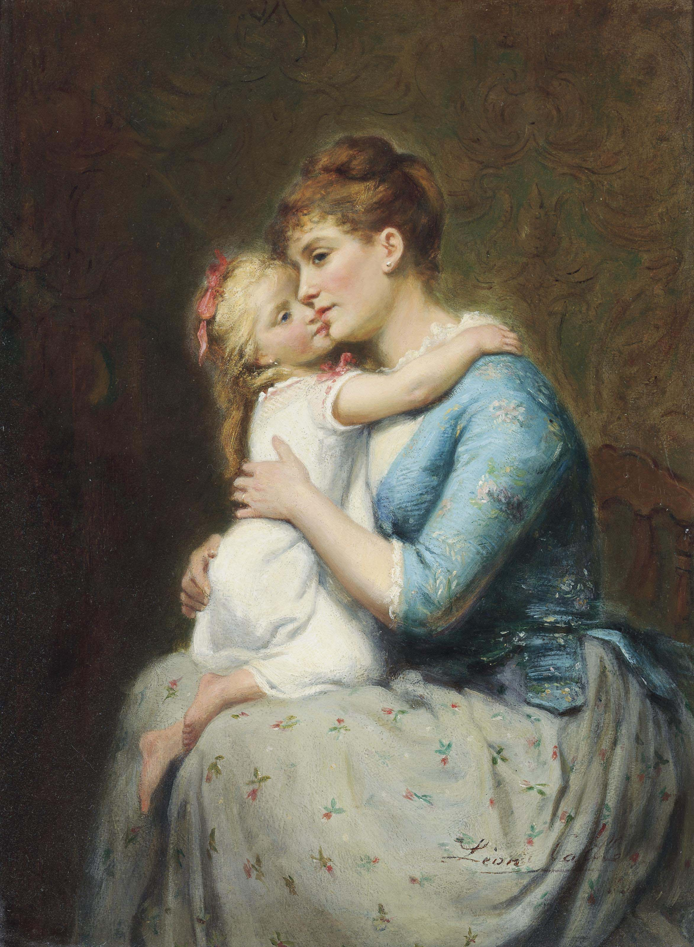 Léon Emile Caille (French, 1836-1907)