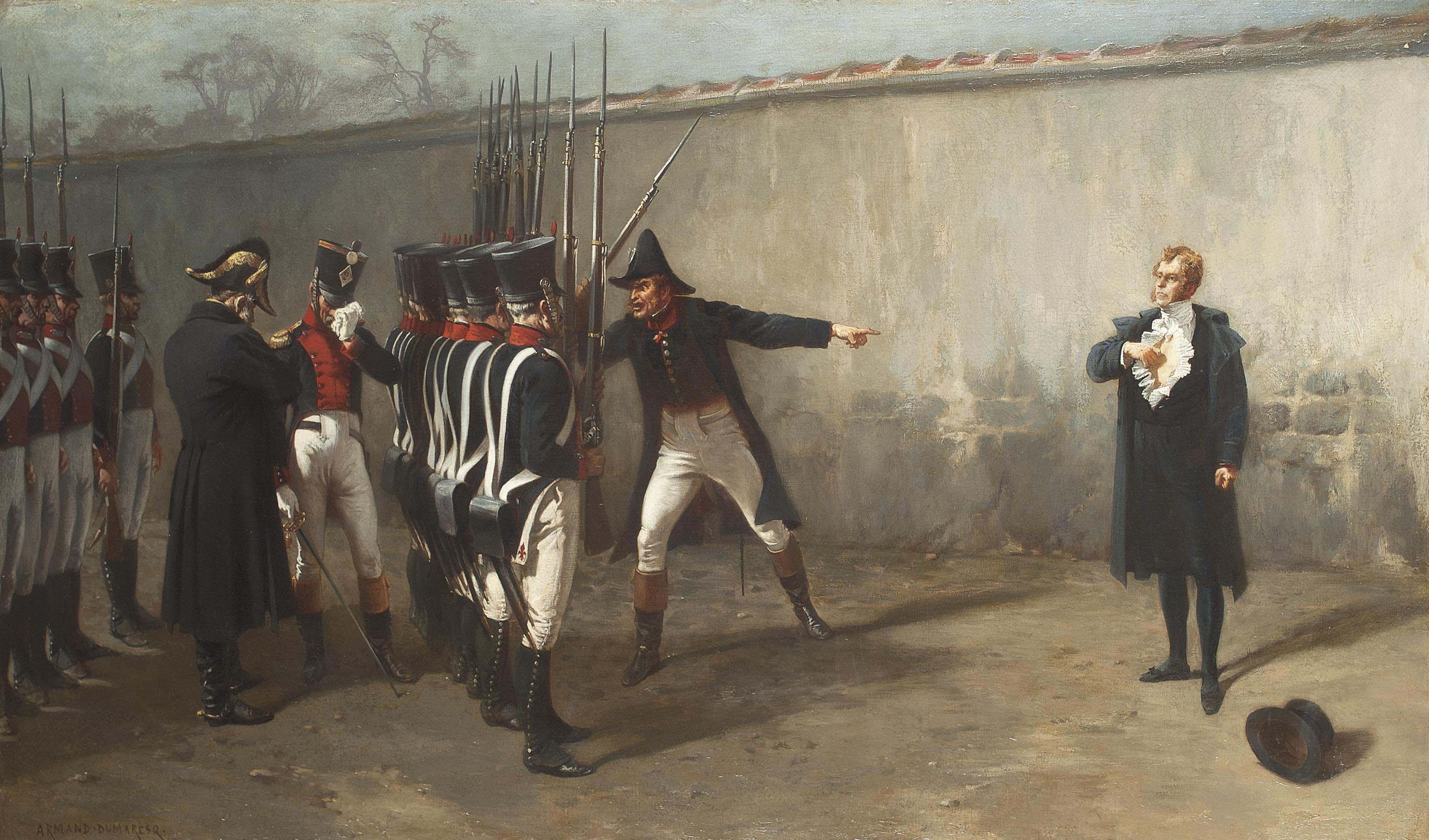 The execution of Mariéchal Ney