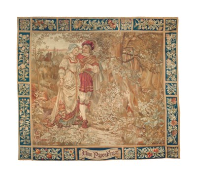 A ROYAL WINDSOR TAPESTRY FROM