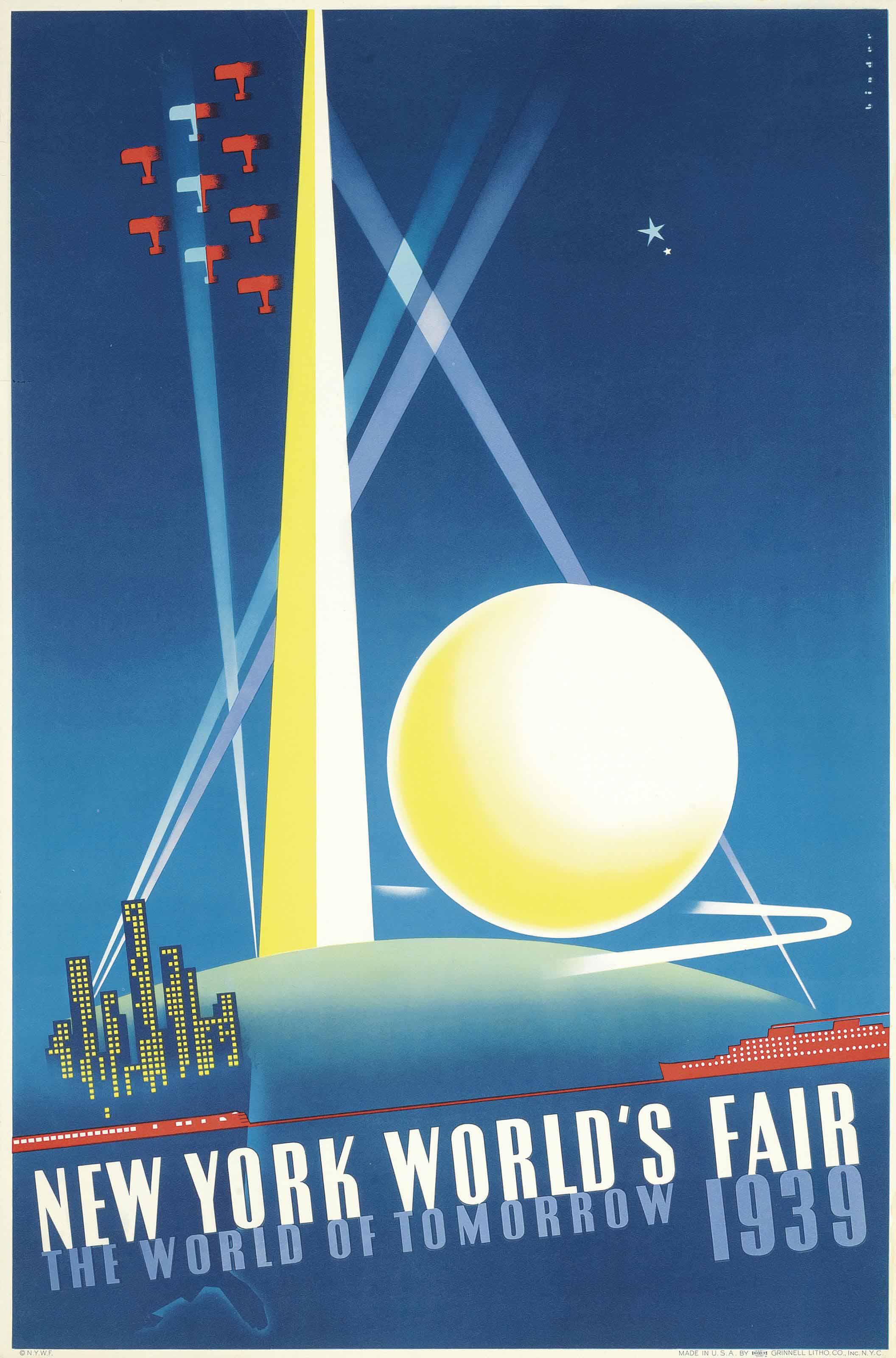 NEW YORK WORLD'S FAIR, THE WORLD OF TOMORROW