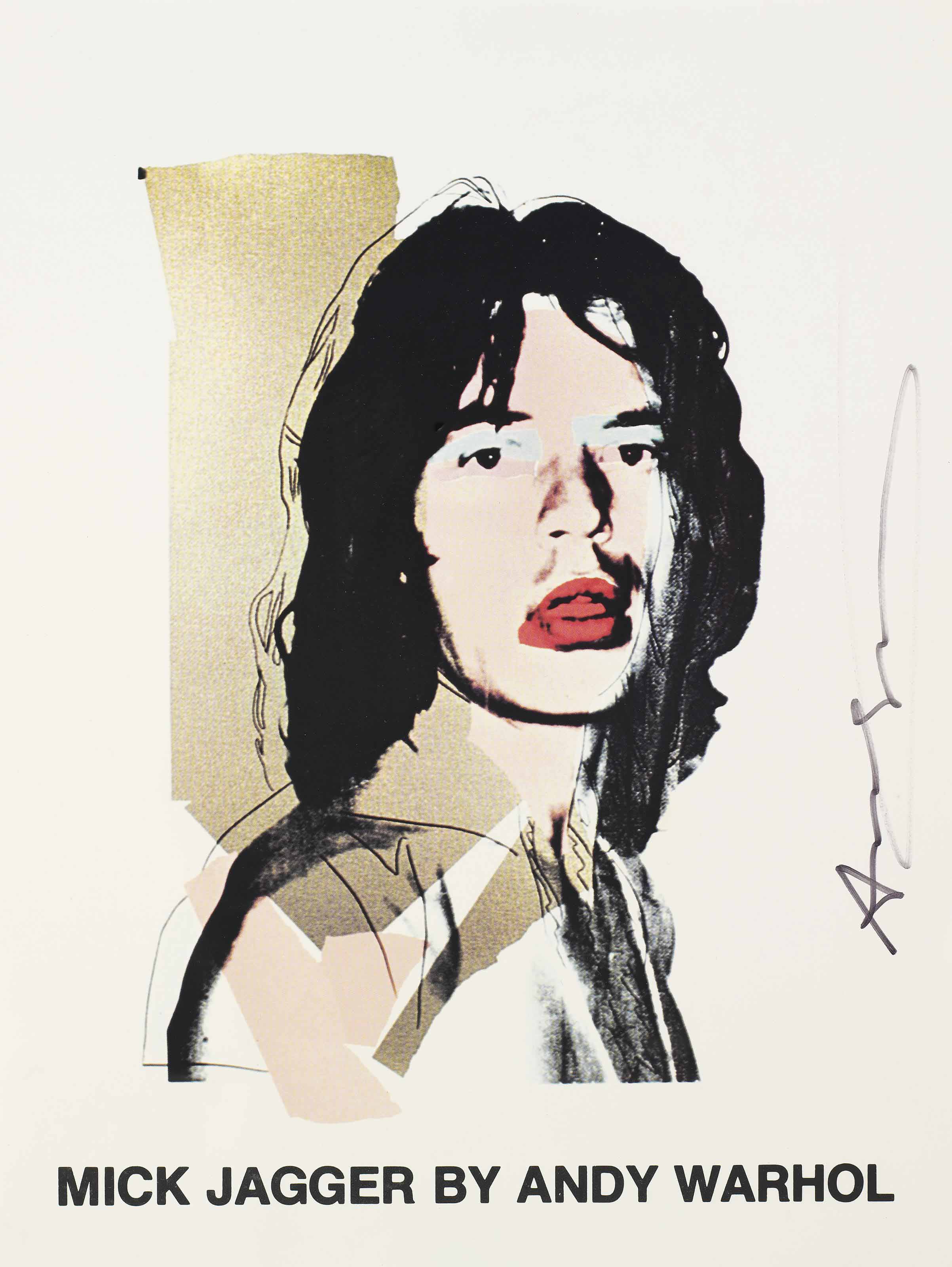 Andy Warhol/The Rolling Stones