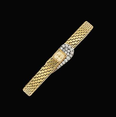 A diamond-set bracelet wristwa
