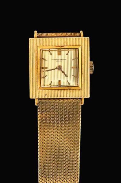 A wristwatch, by Audemars Pigu