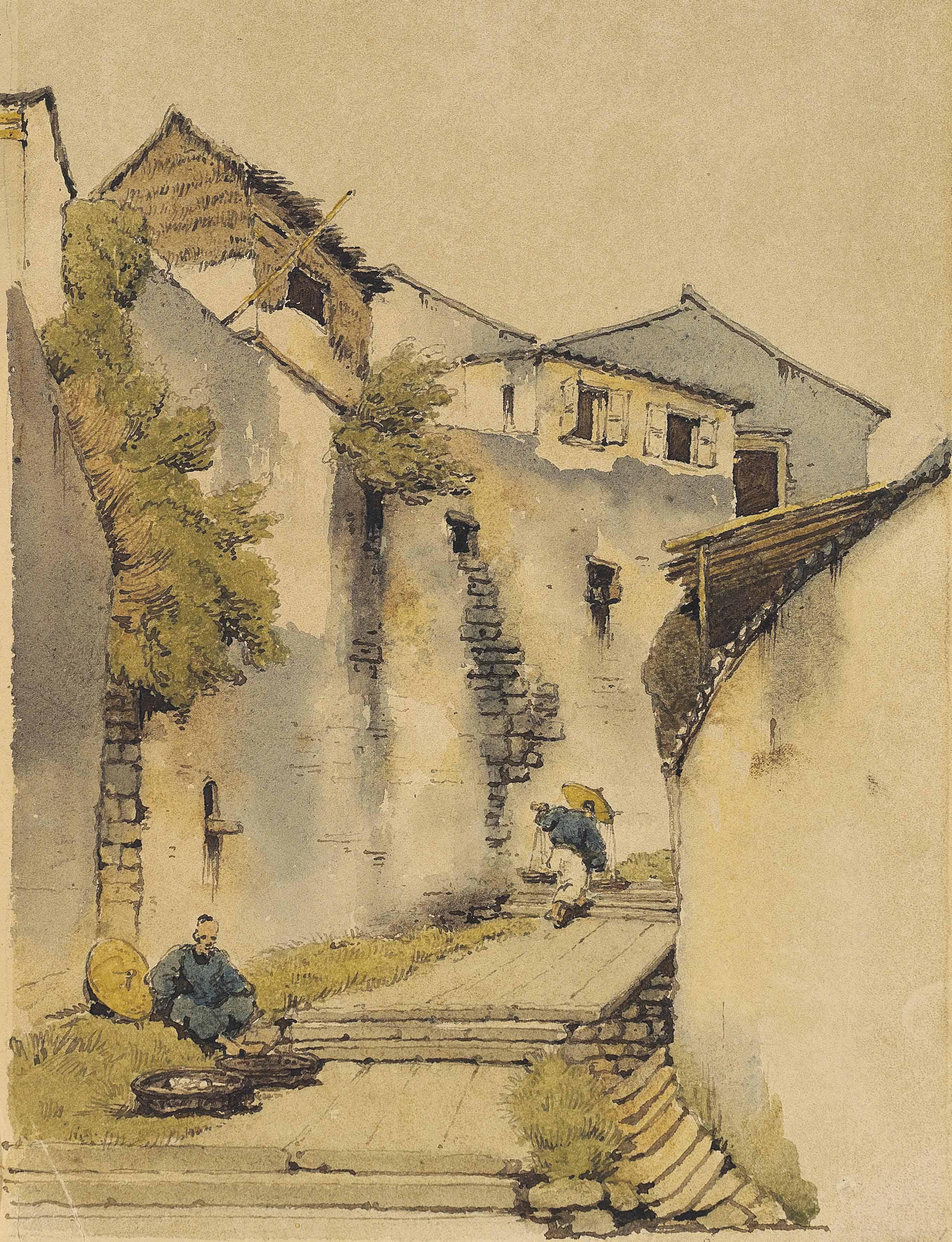 Street Scene, Macao