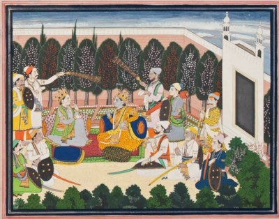 KRISHNA MEETS WITH HIS BROTHER