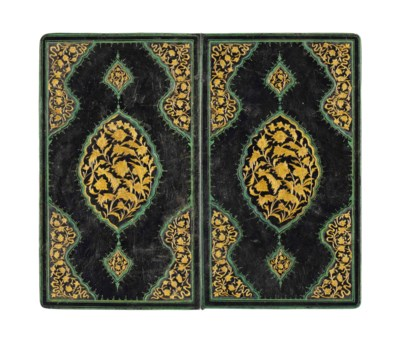 A LARGE SAFAVID-STYLE GILT AND