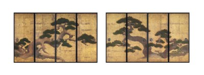 Fine Eight Panel Fusuma [Slidi