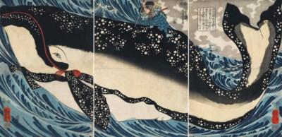 A Rare Print by Utagawa Kuniyo