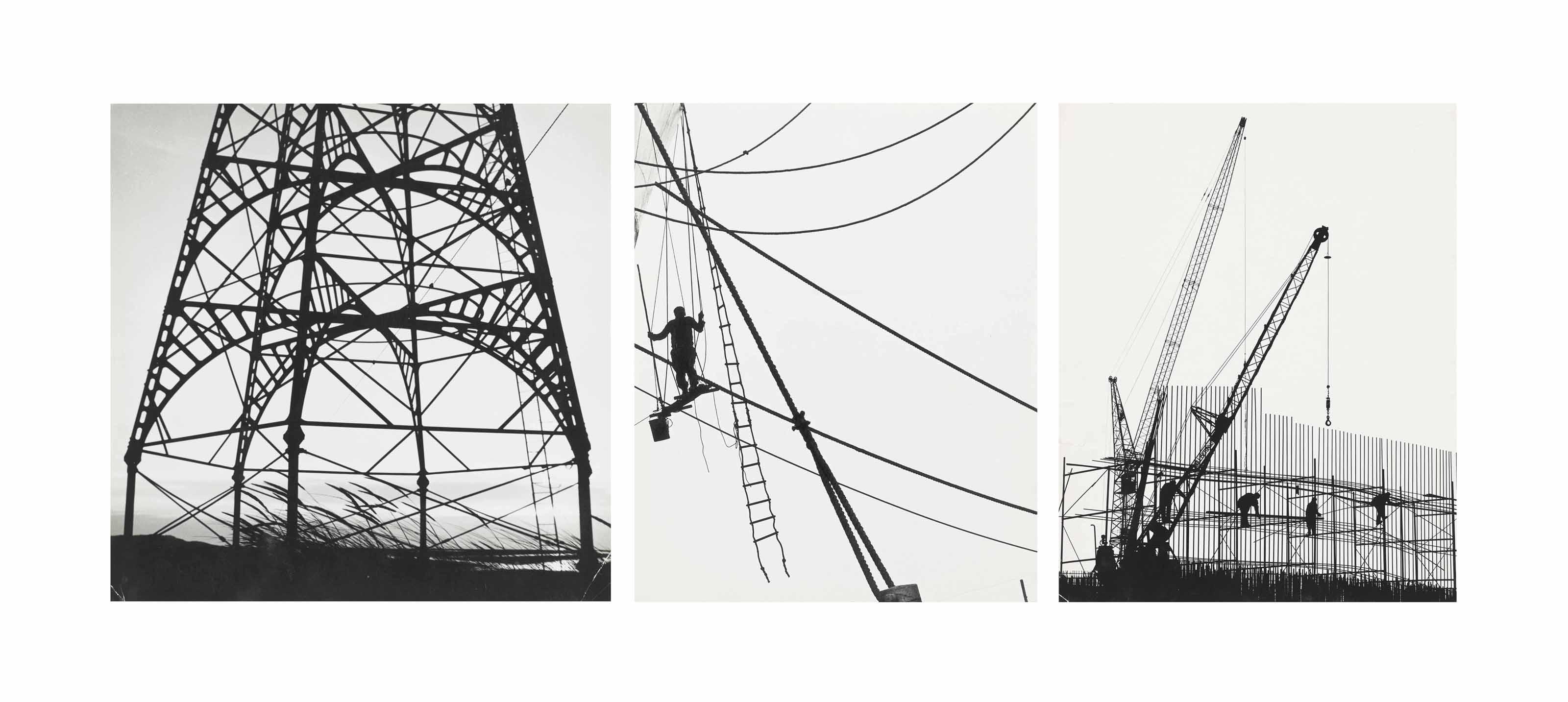Construction Sites, c. 1960