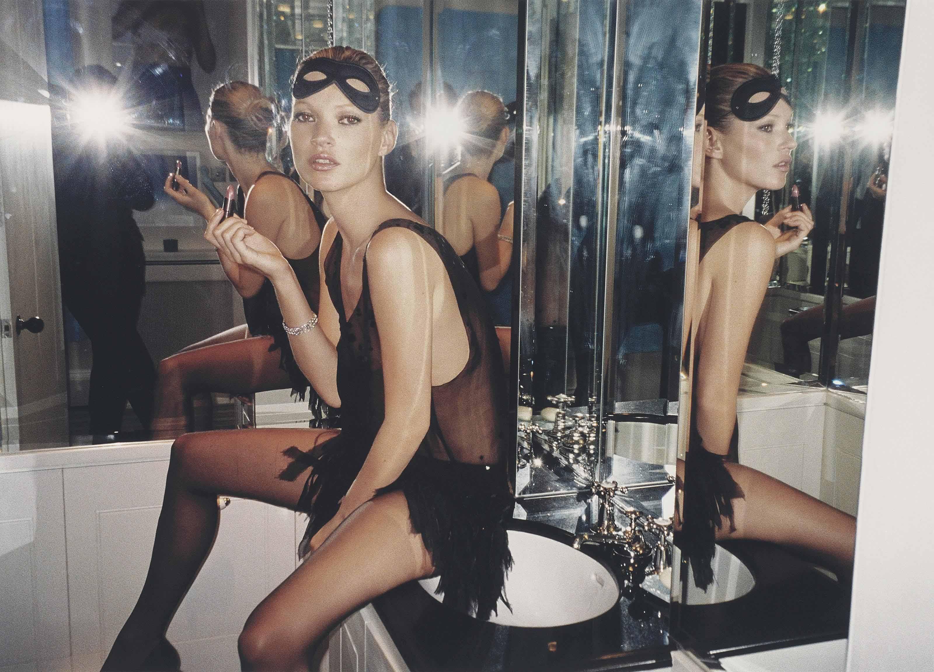 Kate Moss, London, 2006