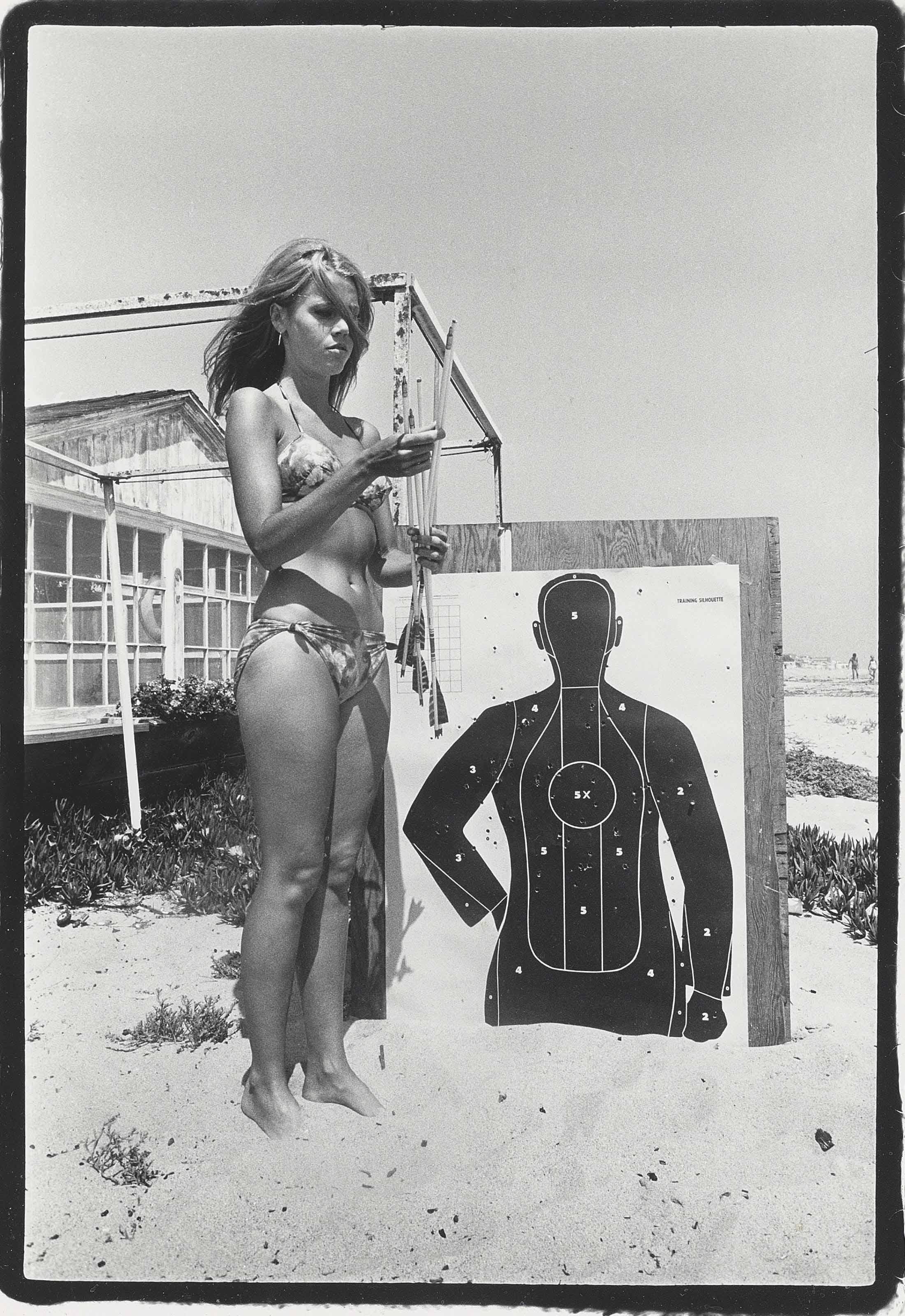 Jane Fonda with Target, 1965