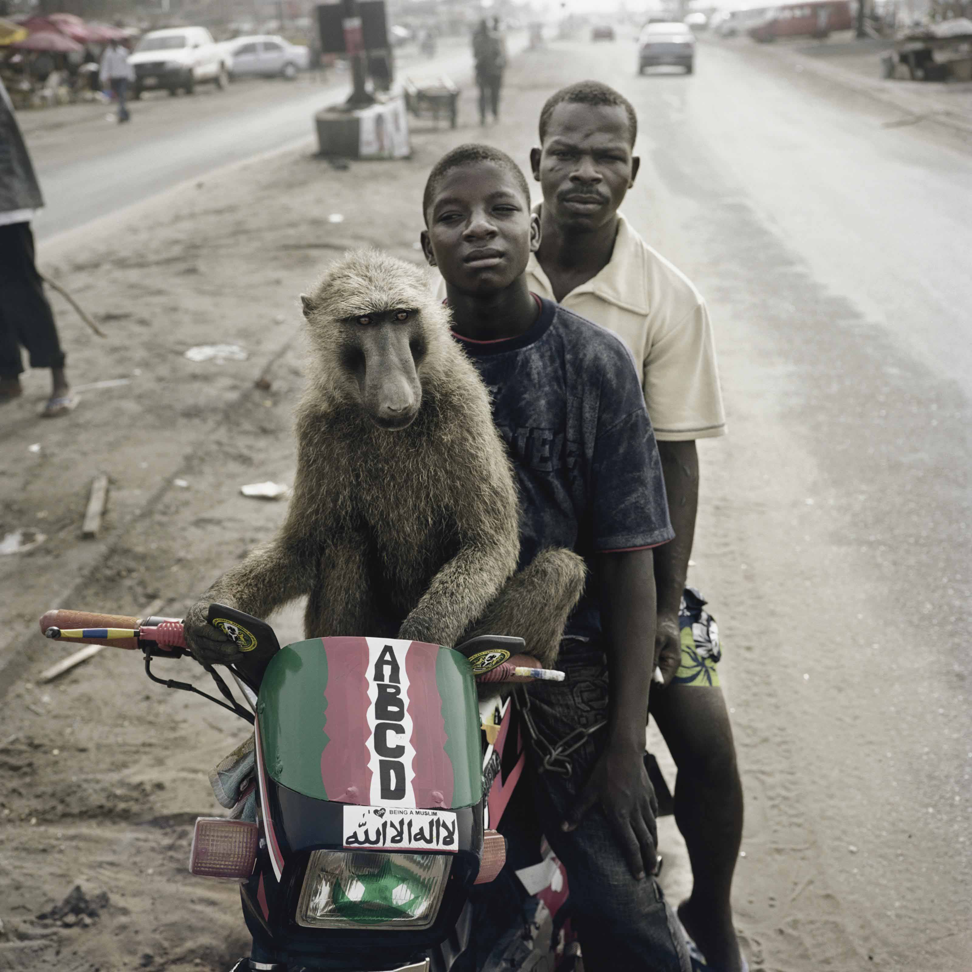 Emeka, Motorcyclist, and Abdullah Ahmadu, Asaba, Nigeria, 2007