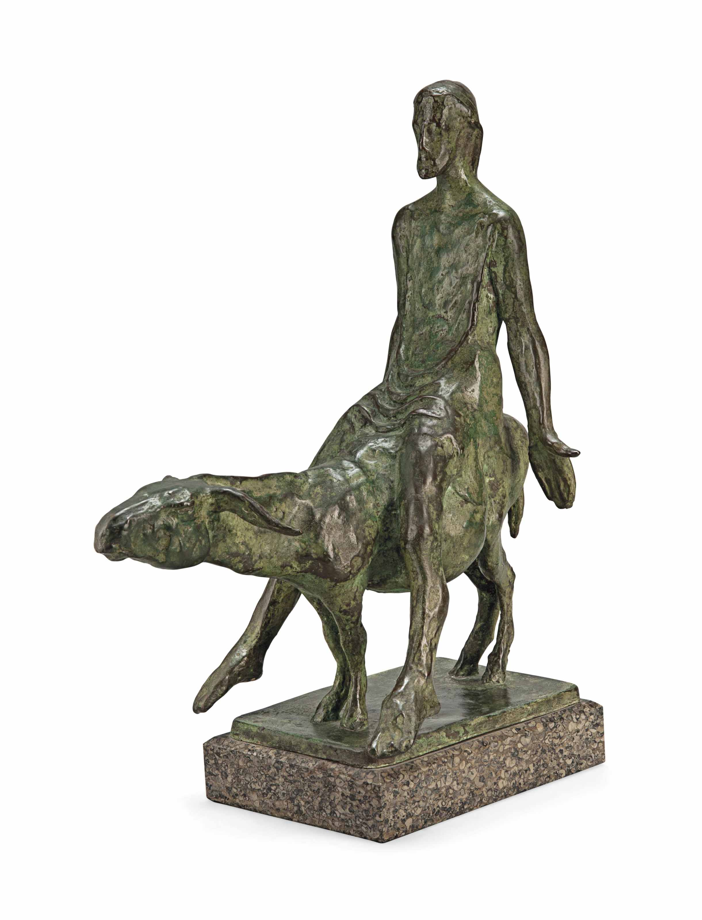 Christ on the donkey, Maquette III