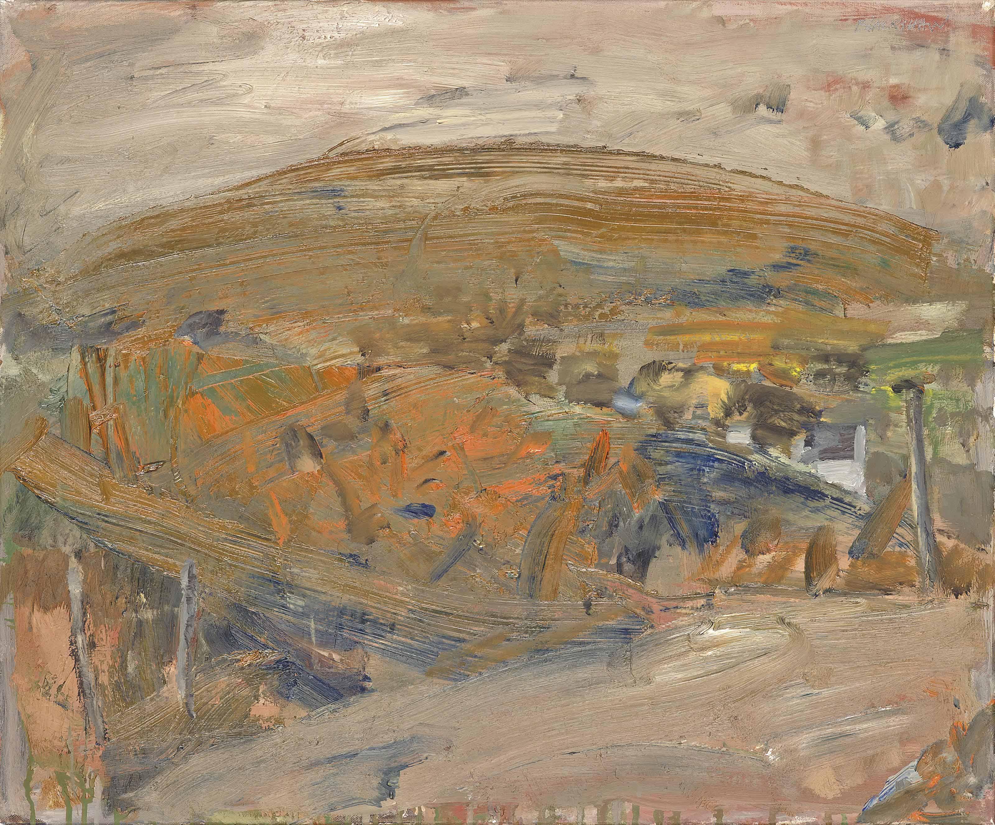 Basil Resale South >> Basil Blackshaw, H.R.H.A. (b. 1932) , Hillside | Christie's