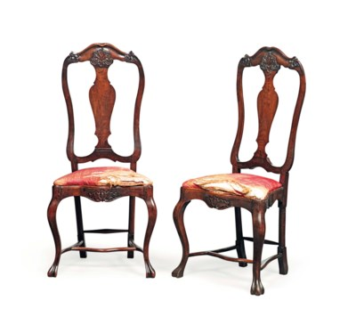 A PAIR OF PORTUGUESE ROSEWOOD