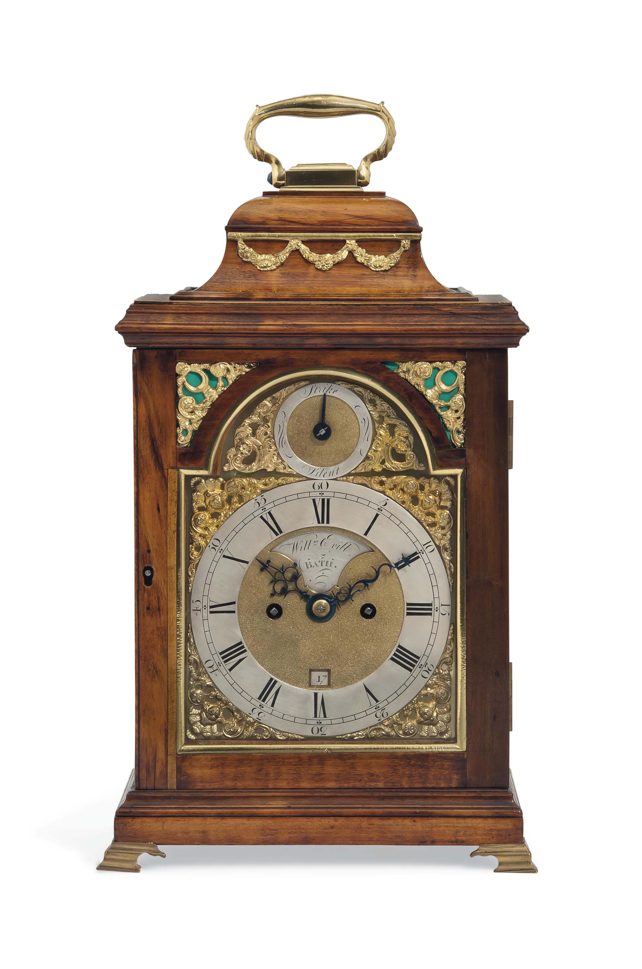 A SMALL GEORGE III FRUITWOOD S