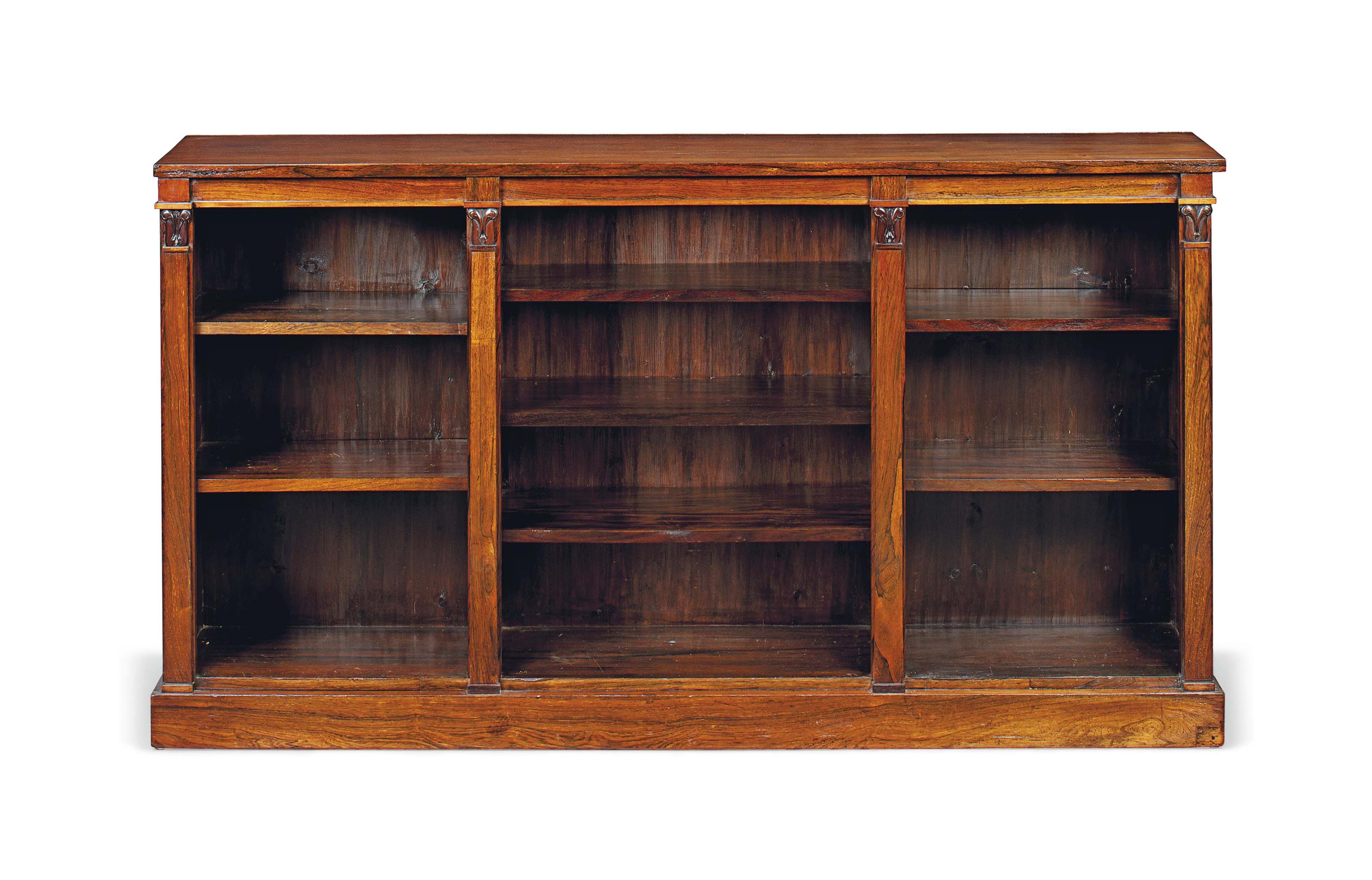 AN EARLY VICTORIAN ROSEWOOD OP