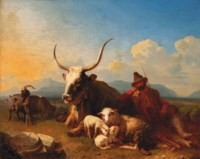 A herdsman in the Roman Campagna